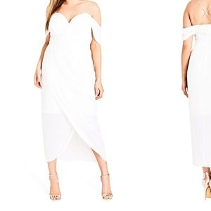 City Chic Dresses - City chic white dress